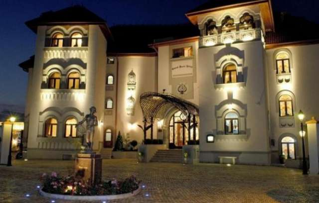 Carol Parc Hotel in Bucharest, formerly known as Suter Palace