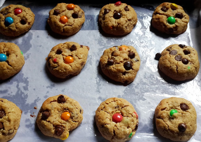 Monster Cookies Recipe - Soft & Chewy
