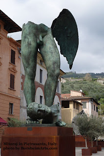 Igor Mitoraj Sculpture Exhibition in Pietrasanta, Italy bronze