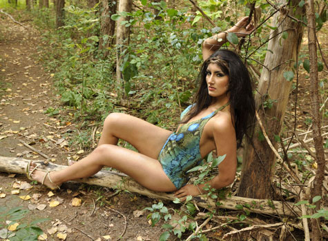 miss earth pakistan 2011,sanober hussain in bikini