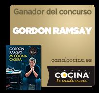 Ganadora del concurso de Gordon Ramsay de Canal Cocina