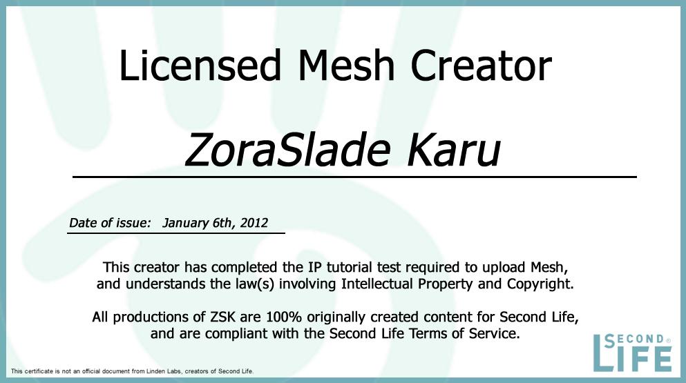 ZSK content is 100% Original