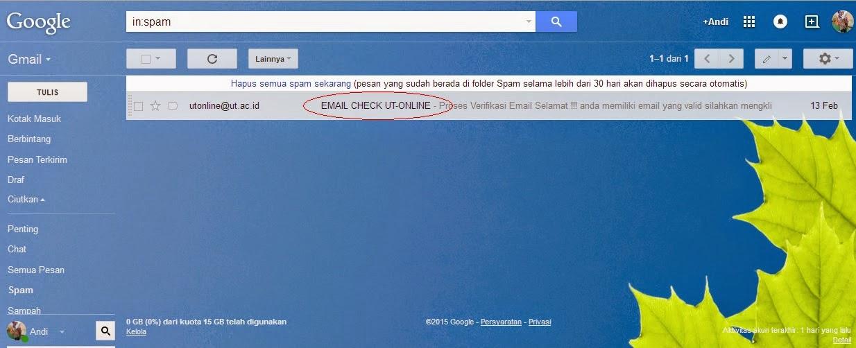 Langkah Aktivasi Tutorial Online (Tuton) melalui Web