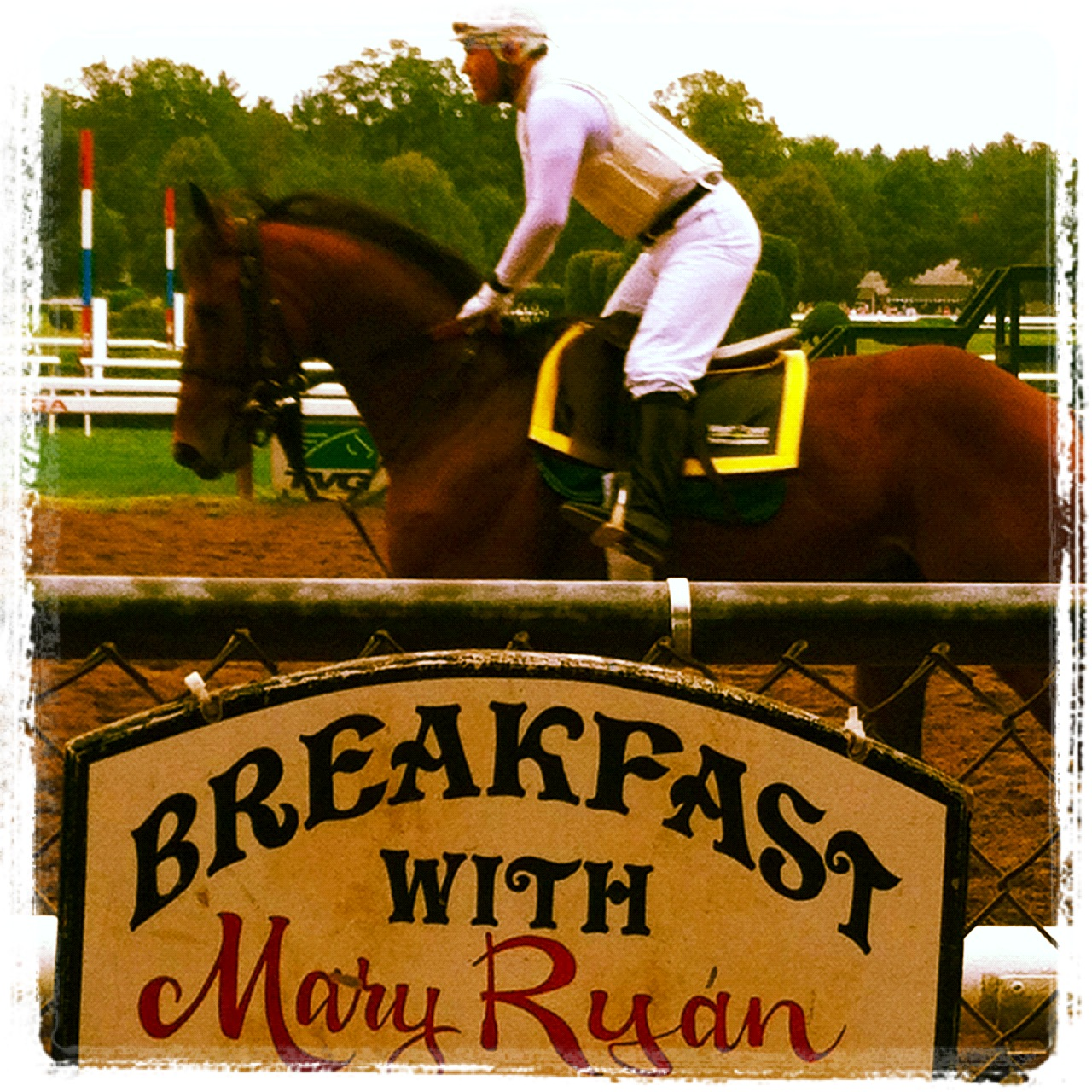 Saratoga Racetrack Breakfast Tour