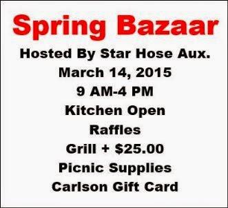 3-14 Spring Bazaar Star Hose Aux.