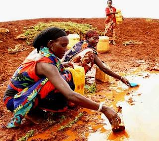 Sequía en Africa - Día Mundial contra la Desertificación y la Sequía 17 de Junio