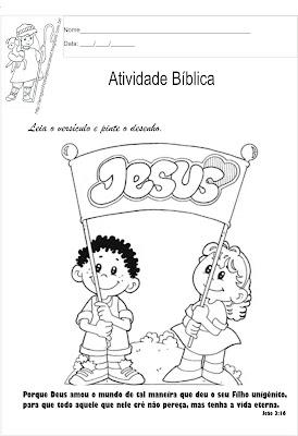 Versículo bíblico para ler e colorir4