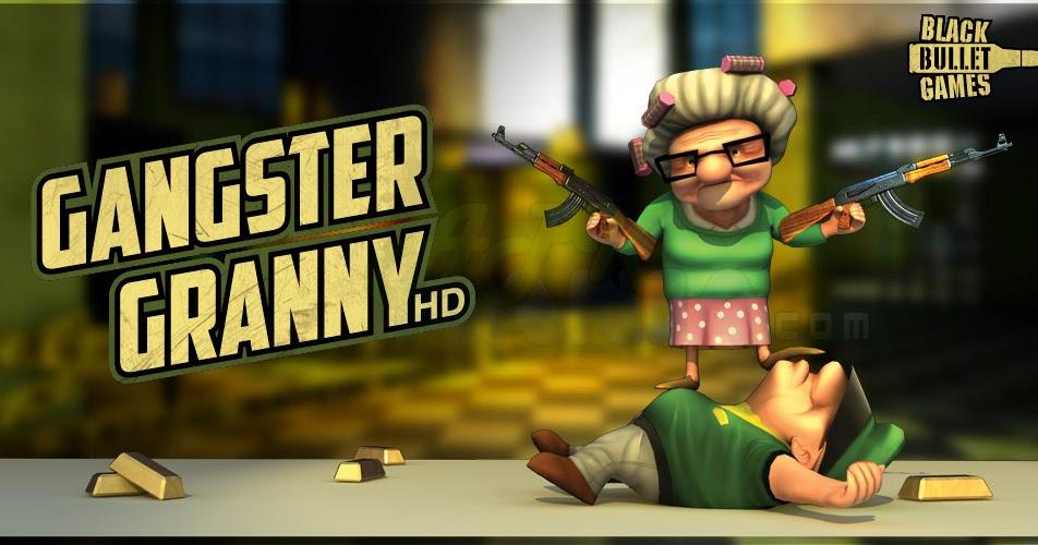 Un nuevo juego para Android Gangster Granny v101 APK + SD Desca