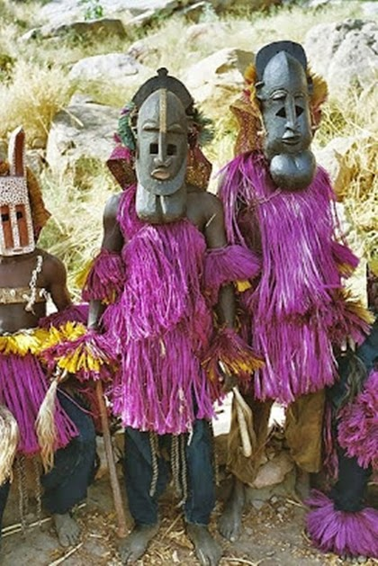 Dogon people from Mali
