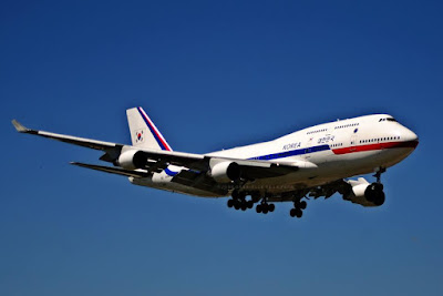 korea government 747