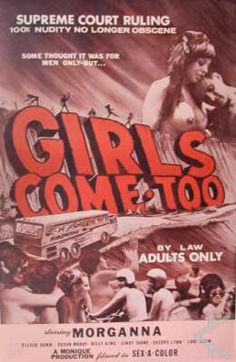Girls Come Too! 01 (1968) Nudist Short