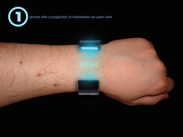 High-Tech Bracelet Concept Phone1