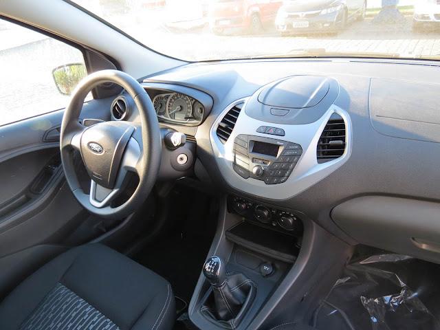Novo Ford Ka 2015 - painel