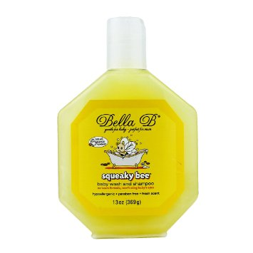 Bella B Squeaky Bee 369 gr. Baby Wash and Shampoo