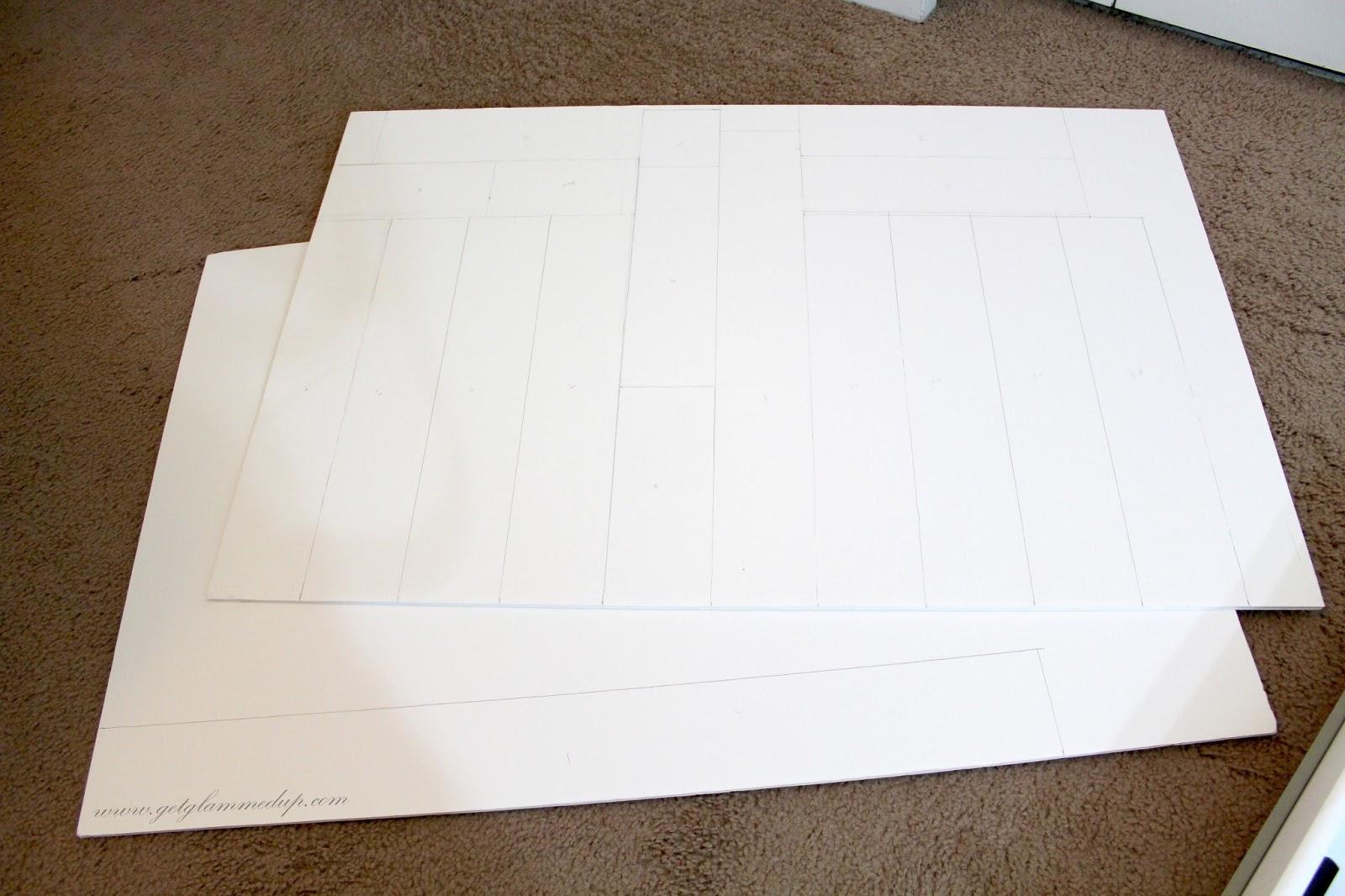 DIY: Custom Drawer Dividers: GetGlammedUp