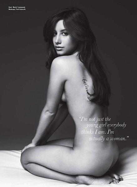 Ashley Tisdale nackt, Oben ohne Bilder, Playboy Fotos,