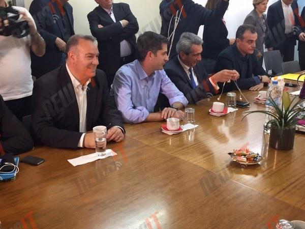 Ευρεία σύσκεψη Βούτση με Περιφερειάρχες για τους μετανάστες - Παρών και ο Μπακογιάννης (ΦΩΤΟ & ΒΙΝΤΕΟ)
