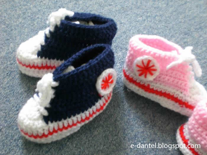Konvers Tarzı Bebek Patik Modelleri