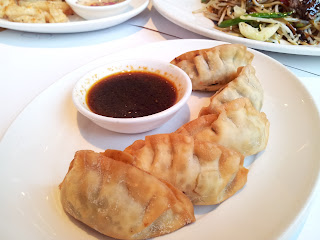 Wagamama, Japanese cuisine, fried gyoza