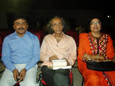 Zulfiqar Behan, Imdad Hussani and Dr.Sahar Imdad