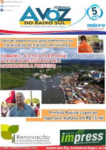 JORNAL IMPRESSO EDIÇÃO Nº 67 ( AGOSTO DE 2019)