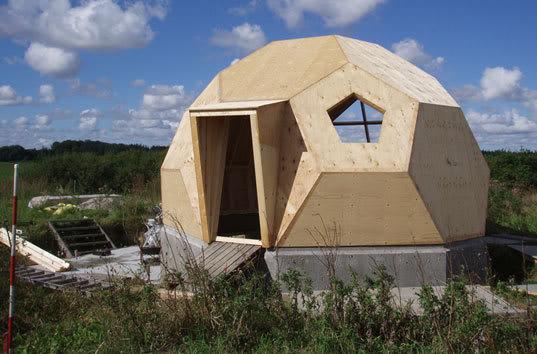 Prefab Geodesic Dome Home on Monolithic Dome Home Plans