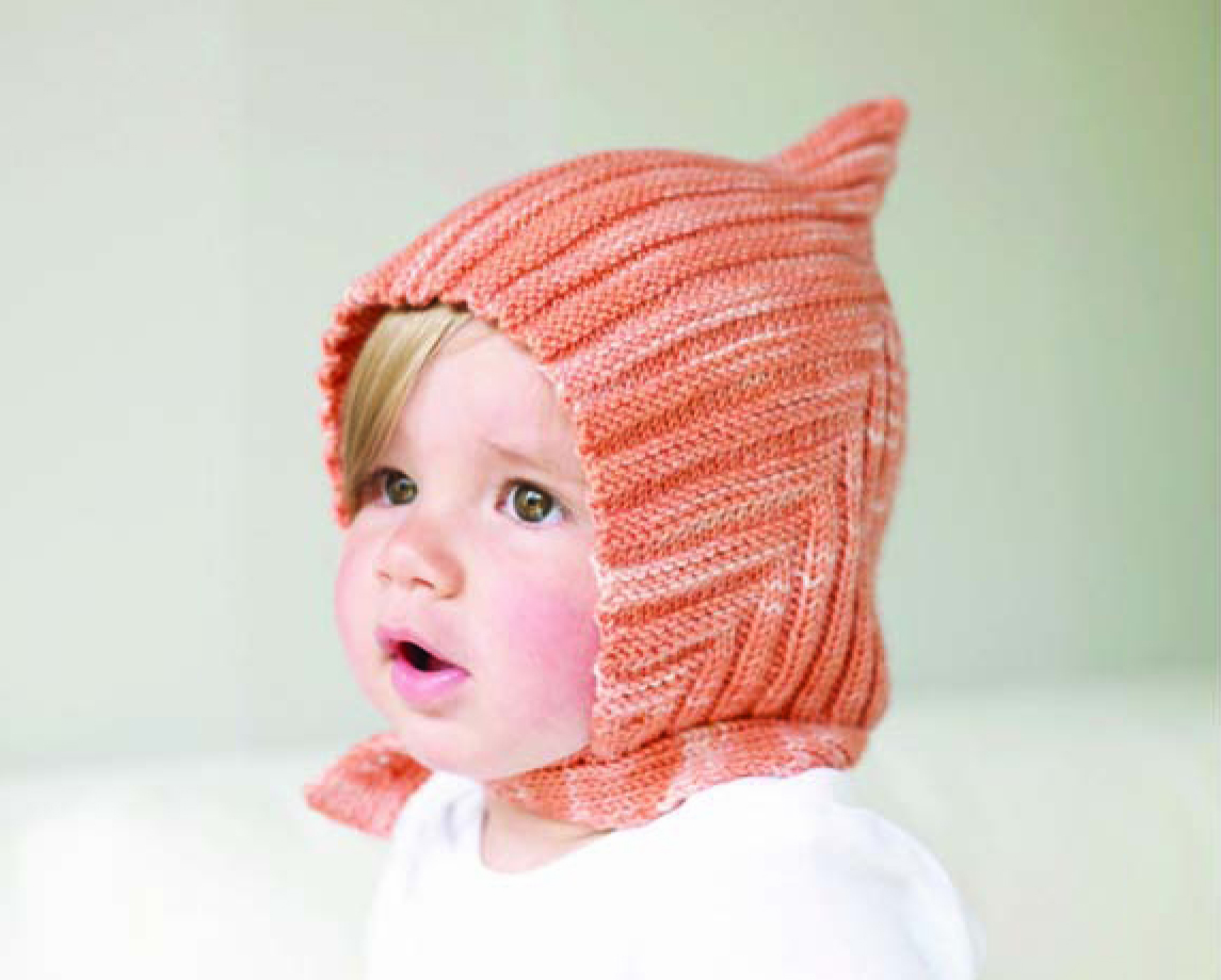 Crochet Pattern Baby Pixie Hat : Louise Knits: Knitted Pixie hat for baby