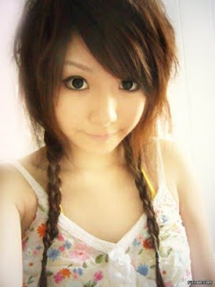Asian Girls Layered Hairstyles pictures