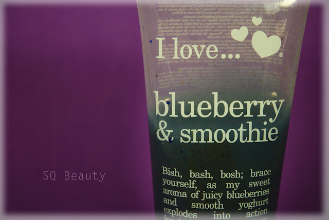 I love... blueberry & smoothie Silvia Quirós