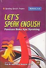 toko buku rahma: buku LET'S SPEAK ENGLISH, pengarang agus salim masyur, penerbit pustaka setia