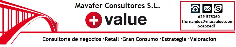 MasValue: La web de Mavafer Consultores S.L.