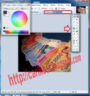 Membuat Gambar Transparan Sederhana