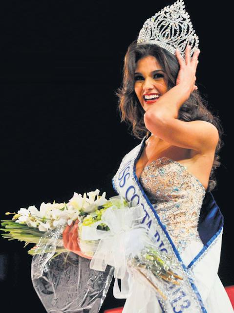 Miss Costa Rica Universe 2013 winner Fabiana Granados Herrera