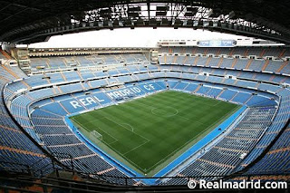 Estadio Santiago Bernabeu del Real Madrid