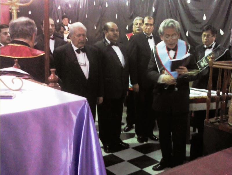 Supremo Consejo Grado 33º ha decidido destituir de su cargo al gran maestro Luis Riberos por Irregularidades dentro de la Gran Logia de Chile