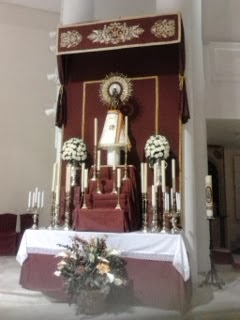 Triduo virgen del Pilar 2012