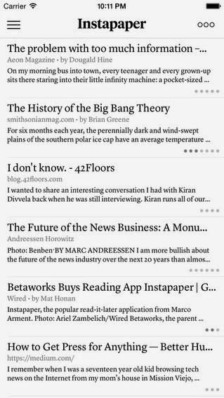 Instapaper for Android and iOS Is Now Free