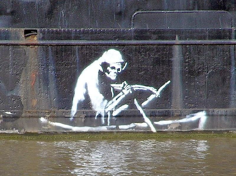 Banksy iun Bristol