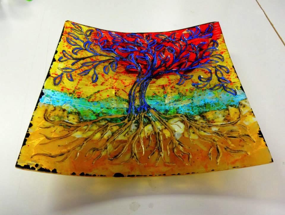 Aae Glass Art Studio Blog Free Glass Fusing Tutorial From