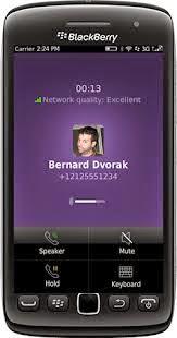 Blackberry hỗ trợ gọi miễn phí