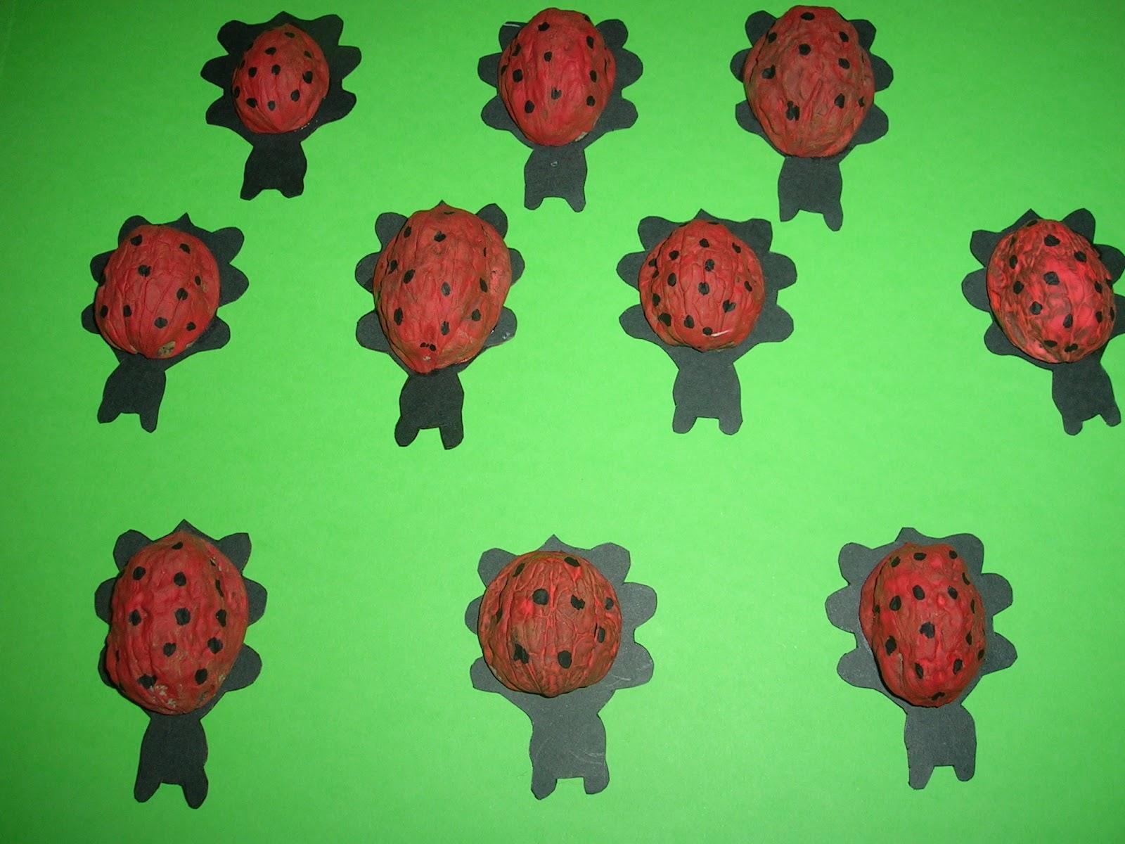 Trabajando en educaci n infantil junio 2012 - Cascara nueces para decorar ...