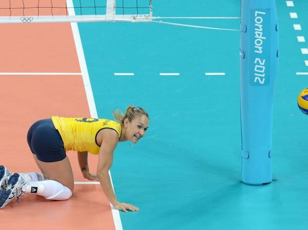 Beleza, simpatia e muito vôlei feminino do Brasil nas Olimpíadas de Londres 2012