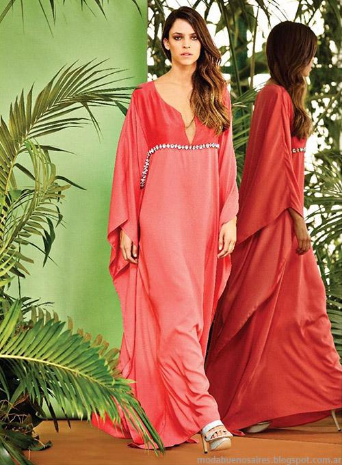 Naima primavera verano 2015 moda vestidos.