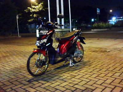 Gambar Modifikasi Motor Honda Beat Versi Icon