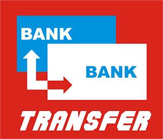 Pembayaran melalui Transfer Bank.