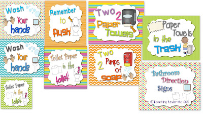 Bathroom Signs For Kindergarten simple preschool bathroom signs picture prompts to help you teach