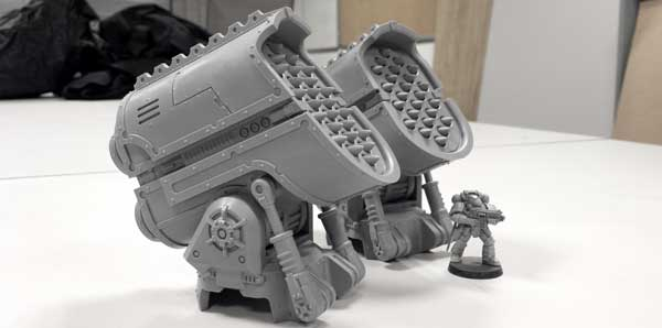More Weapons for the Warlord Titan