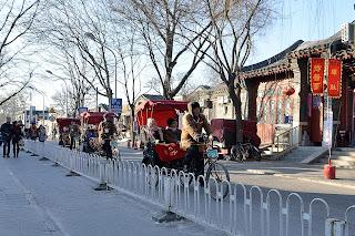 Hutong tour on pedicab near Prince Gong's Mansion (Gong Wang Fu)