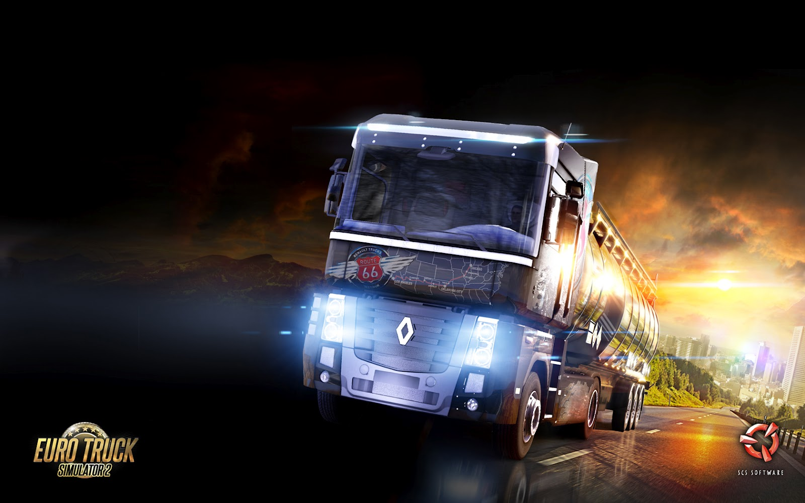 Renault in Euro Truck Simulator 2