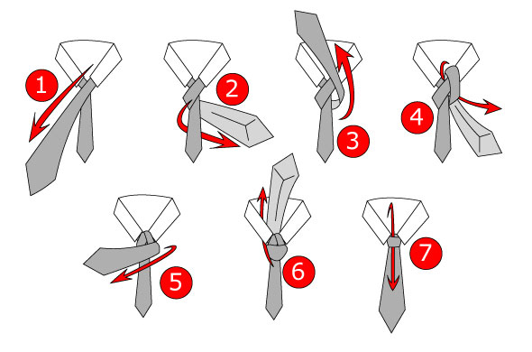 Devine mail learn how to wear a tie learn how to wear a tie in simple steps through images shown below ccuart Images
